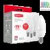 Набор LED ламп MAXUS, 4W, E14, C37, CL-F, 4100К - яркий свет (по 3 шт.) (3-LED-5312)