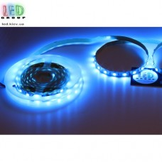 Светодиодная лента 12V, 5050, 60 led/m, 12W, IP20, бирюзовый. Гарантия - 12 месяцев