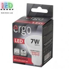 LED лампа ERGO Standard MR16 GU10 7W 220V 4100K Нейтральный белый