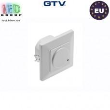 Микроволновый датчик движения с регулировкой чувствительности сумерек GTV, 1200W, IP20, 180, CM-4, белый. ЕВРОПА!!! Гарантия - 2 года
