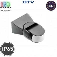 Микроволновый датчик движения с регулировкой чувствительности сумерек GTV, 1200W, IP65, 180, CM-9, чёрный. ЕВРОПА!!! Гарантия - 2 года