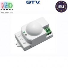 Микроволновый датчик движения с регулировкой чувствительности сумерек GTV, 1200W, IP20, 360,  SRC812, белый. ЕВРОПА!!! Гарантия - 2 года