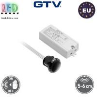 Сенсорный бесконтактный выключатель, врезной, 500W, GTV, двухфункциональный. ЕВРОПА!!! Гарантия - 2 года