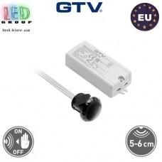 Сенсорный бесконтактный выключатель, врезной, 500W, GTV, двухфункциональный. Польша!!! Гарантия - 2 года