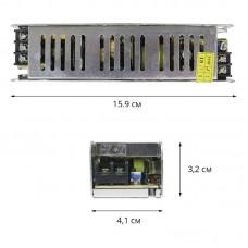 Блок питания 12V, 60W, 5А, STR-60-12, металлический корпус, для внутреннего применения