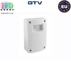 Cумеречный датчик (включатель) GTV, 1500W, IP44, CZ-2, белый