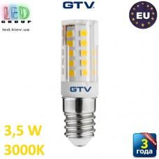 Светодиодная LED лампа GTV, 3.5W, E14, 3000K. ПОЛЬША!!! Гарантия - 3 года