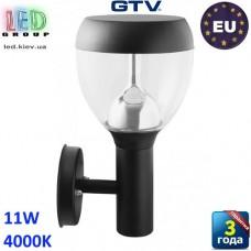 Светодиодный LED светильник GTV, 11W, 4000K, накладной, IP54, JARDI-A. ЕВРОПА!!! Гарантия - 2 года