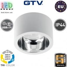 Светодиодный светильник GTV, KARIS, 18W (EMC+), UGR<19, 3000K/4000K/6500K, круглый, накладной, белый. ЕВРОПА!!! Гарантия - 5 лет