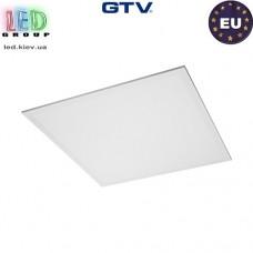 Светодиодная LED панель GTV KING+ 45W, 4000K, IP54, толщина - 10мм. ПОЛЬША!!! Premium. Гарантия - 3 года
