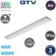 Светодиодный LED светильник GTV, 48W, 4000К, 1200мм, IP44, накладной, ZEFIR PRO. ПОЛЬША!!!