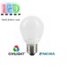 Лампа CIVILIGHT E27 A60 K2F40T6-8054 ceramic (4990)