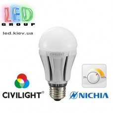 Лампа CIVILIGHT E27 DA60 KDA60 W2F60T10 dimmable (4219)