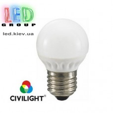 Лампа CIVILIGHT E27 G45 K2F35T4 ceramic (7220)