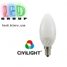 Лампа CIVILIGHT E14 C37 K2F35T4 ceramic matt (7216)