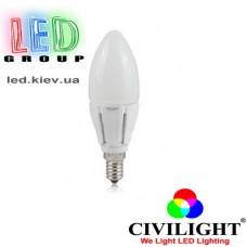 Лампа CIVILIGHT E14 C37 K2F40T6 (4724)