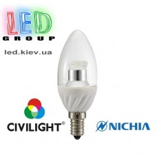 Лампа CIVILIGHT E14 C37 WF25T4 ceramic clear (4987)