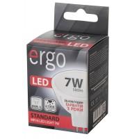 LED лампа ERGO Standard MR16 GU5.3 7W 220V 4100K Нейтральный белый