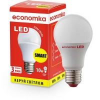 Светодиодная лампа SMART Economka А60 LED 10W Е27, 2800K
