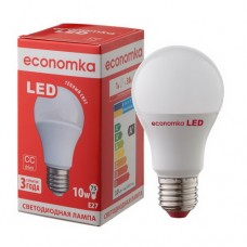 Светодиодная лампа Economka А60 LED 10W Е27 2800K