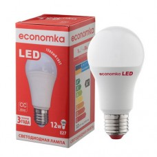 Светодиодная лампа Economka А60 LED 12W Е27 2800К