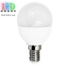 """Лампа LED E14 """"шар"""" 4W (2700К)"""