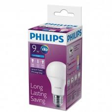 Светодиодная лампа E27 PHILIPS 9W 6500K, холодного свечения