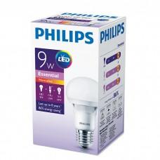 Светодиодная лампа E27 PHILIPS 9W 3000K, тёплого свечения