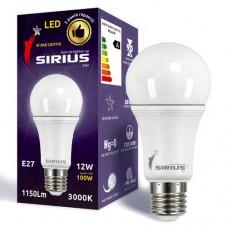 LED лампа Сириус 12W 3000K А60 E27 (1-LS-1103)