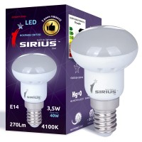 Cветодиодная лампа SIRIUS E14 R39 4W (4000К) (1-LS-3602)