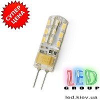 Cветодиодные лампы G4 1.5W 220V (3000К)