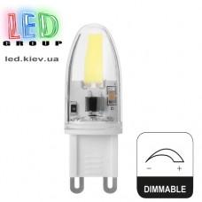 Cветодиодная лампа G9 3W 220V (4000К) Dimmable