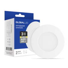 Панель (мини) GLOBAL LED SPN 3W мягкий свет (1-SPN-001)