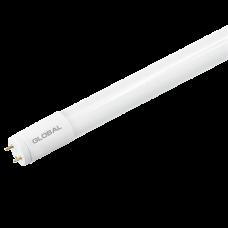 LED лампа GLOBAL T8, 8W, 60 см, яркий свет, G13, (0840-02)