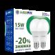 Набор светодиодных ламп LEDEX E27 15W (4000К) (ПО 2 ШТ.)