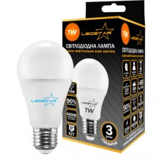 Cветодиодная лампа LEDSTAR A60-E27-8W (4000К)