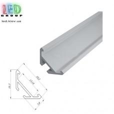 Профиль алюминиевый для светодиодной ленты, ЛСУ - 2 метра