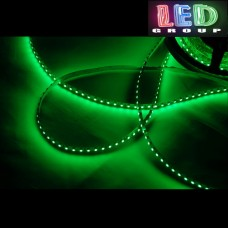 Светодиодная лента 12V, SMD 2835, 120 led/m, 9.6W, IP20, зелёный, Standart. Гарантия - 12 месяцев.