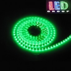 Светодиодная лента 12V, 2835, 60 led/m, IP20, зелёный, Standart. Гарантия - 12 месяцев.
