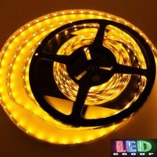 Светодиодная лента 12V, SMD 2835, 60 led/m, 4.8 Вт/м, IP20, жёлтый, Standart. Гарантия - 12 месяцев.