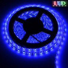 Светодиодная лента 12V, 5050, 60 led/m, IP65, синий, Standart. Гарантия - 12 месяцев.