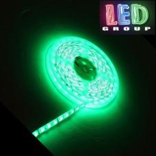 Светодиодная лента 12V, 5050, 60 led/m, 14.4W, IP65, зелёный, Standart. Гарантия - 12 месяцев.