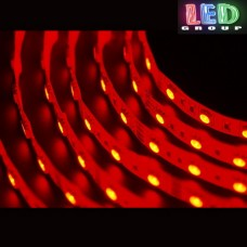Светодиодная лента 12V, 5050, 60 led/m, 14.4W, IP20, красный, Standart. Гарантия - 12 месяцев.