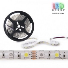 Светодиодная лента 12V, 5050, 60 led/m, 14.4W, IP65, RGB+СW (RGB+Белый 6500К), Standart. Гарантия - 12 месяцев.