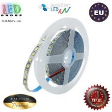 Светодиодная лента, master LED, 12V, SMD 2835, 120 led/m, 12W, IP20, 1500Lm, 6500K - белый холодный, Prestige. Гарантия - 36 месяцев.