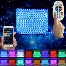 Светодиодная лента SMD 5050 LED S5050-60RGB-IP67-220V