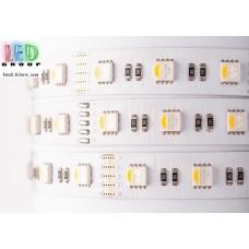 Светодиодная лента 12V, 5050, 60 led/m, 19.2W, IP20, RGBNW (RGBБелый 4200К), Premium. Гарантия - 60 месяцев.