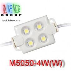 Светодиодный модуль LED M5050-4W(W)