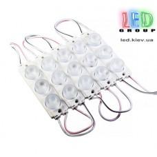Светодиодный модуль торцевой M3030, 2.5W, 8000К, угол свечения 40°х60°