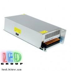 Блок питания 12V, 500W, 42А, металлический корпус, IP20, не герметичный, для внутреннего применения. С кулером